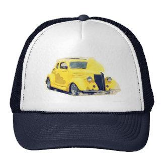 Hot rod 40s chopped muscle car trucker hat