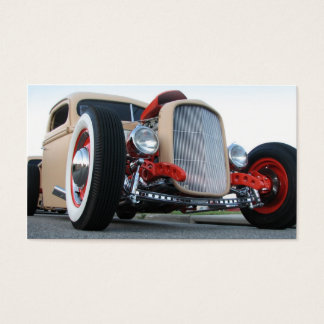 Hot Rod 911 Business Card