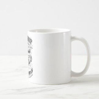 Hot Rod - Antique Customs (black) Classic White Coffee Mug