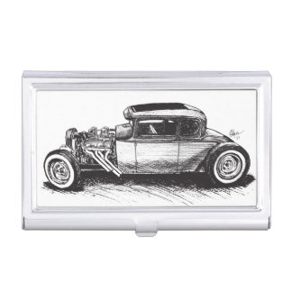 Hot Rod Business Card Holder