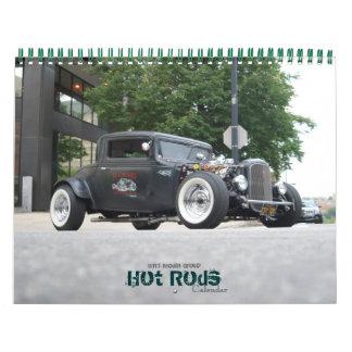 Hot Rod Calender by WRT Media Group Wall Calendars