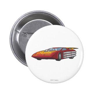 Hot Rod Car Mode 2 Inch Round Button