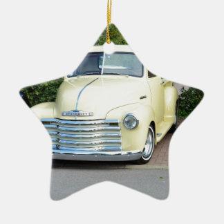 Hot Rod Chevrolet Pickup. Ceramic Ornament