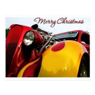 Hot Rod Christmas Card