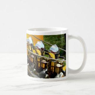 Hot Rod Chrome Engine - Coffee Mug
