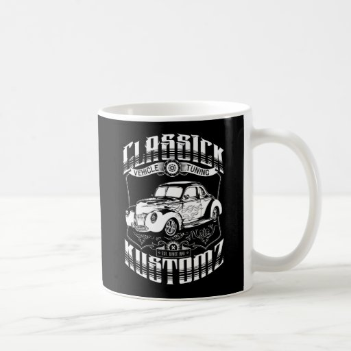 Hot Rod - Classick Kustomz (white) Mug