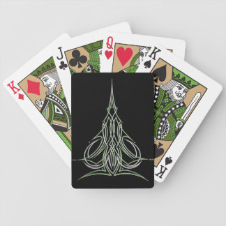 Hot Rod Custom Car Pinstripe Pinstriping Art Bicycle Playing Cards