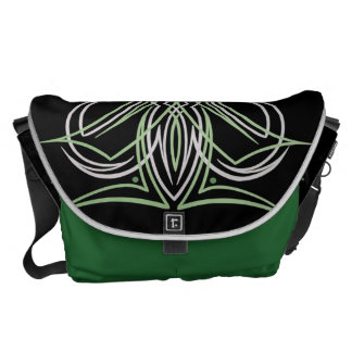 Hot Rod Custom Car Pinstripe Pinstriping Art Commuter Bag