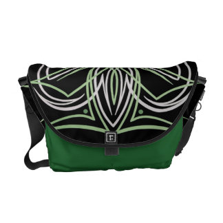 Hot Rod Custom Car Pinstripe Pinstriping Art Courier Bag