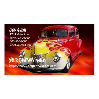 Hot Rod Deluxe Business Cards