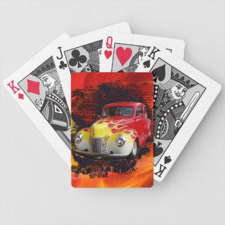 Hot Rod Deluxe Poker Deck