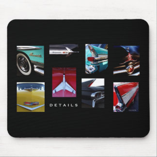 Hot Rod Details Mouse Pad