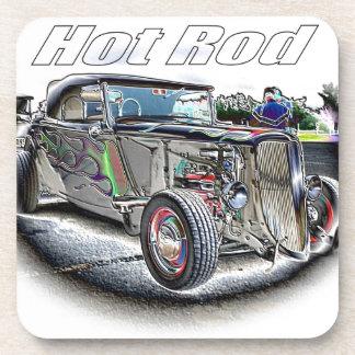Hot Rod Drink Coaster