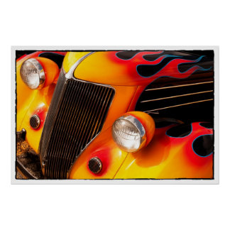 Hot Rod Flames Posters