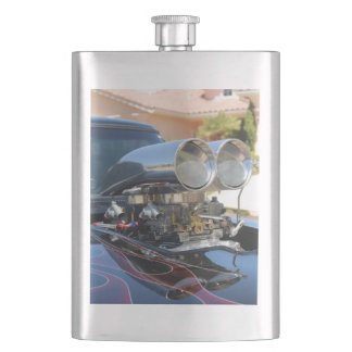 Hot Rod Hip Flask