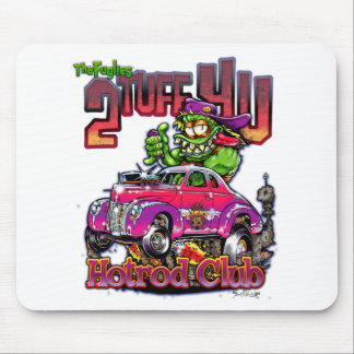 Hot Rod Monsters - THE FUGLIES: HOTROD Mouse Pad