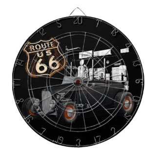 Hot Rod on 66 Dartboard