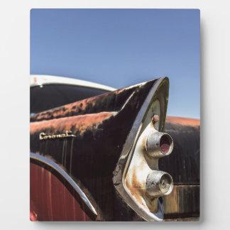 Hot rod plaque