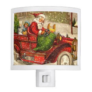 Hot Rod Santa Night Lights