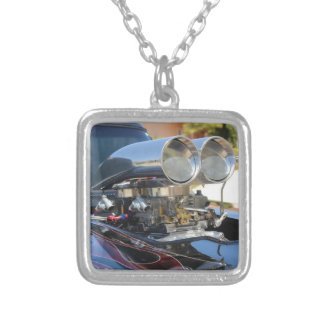 Hot Rod Silver Plated Necklace