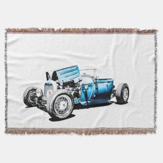 Hot Rod Throw Blanket