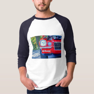 Hot Rodding 3/4 Sleeve Raglan T-Shirt