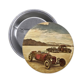 Hot Rods at Bonneville 2 Inch Round Button