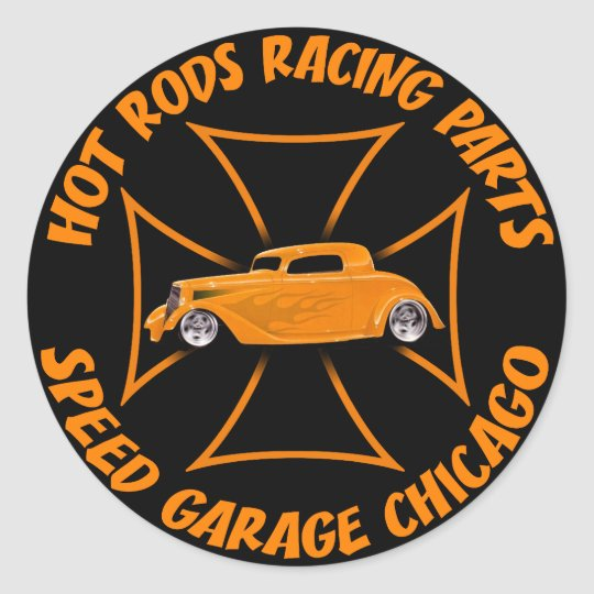 Hot Rods Sticker
