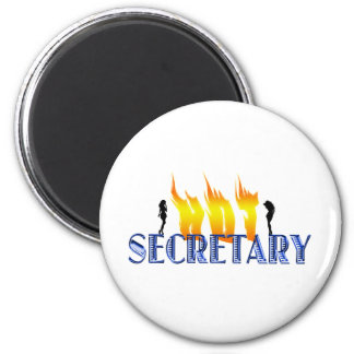 Hot Secretary Magnet