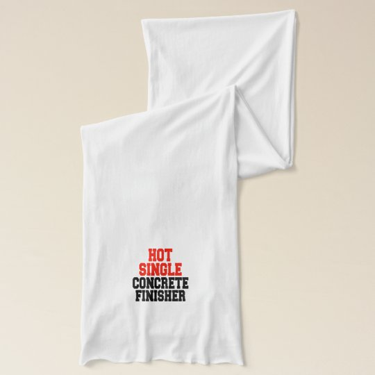 Hot Single Concrete Finisher Scarf
