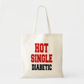 Hot Single Diabetic Budget Tote Bag