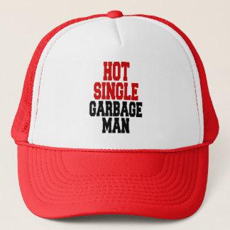 Hot Single Garbage Man Trucker Hat