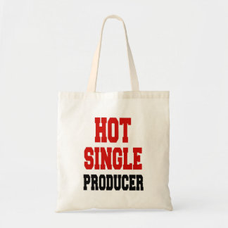 Hot Single Producer Budget Tote Bag