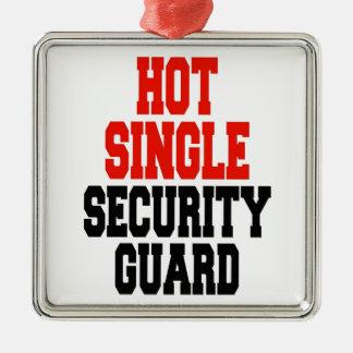 Hot Single Security Guard Metal Ornament