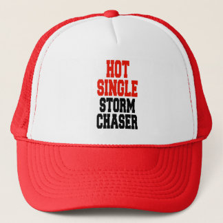 Hot Single Storm Chaser Trucker Hat
