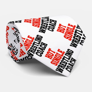 Hot Single Wrestling Coach Tie