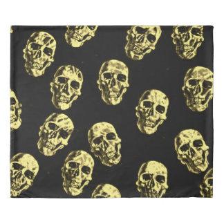 Hot Skulls,eggshell Duvet Cover
