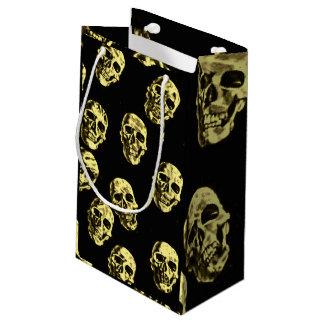 Hot Skulls,eggshell Small Gift Bag