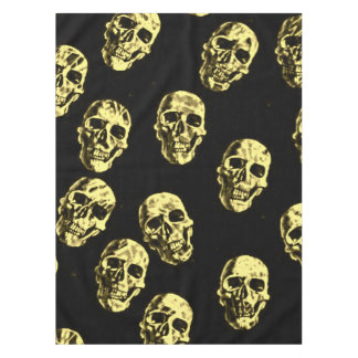 Hot Skulls,eggshell Tablecloth