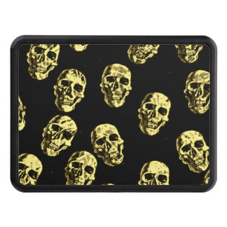 Hot Skulls,eggshell Tow Hitch Cover
