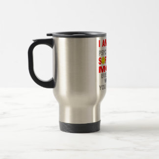 Hot Softball Mom 15 Oz Stainless Steel Travel Mug