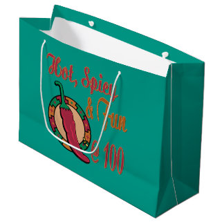 Hot Spicy and Fun at 100 Large Gift Bag