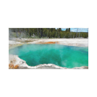 Hot Spring National Park Canvas Print