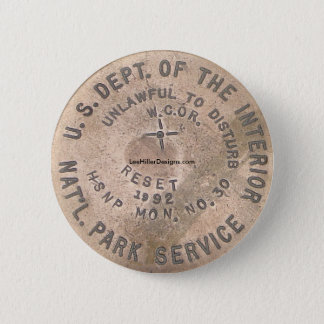 Hot Springs, AR US Dept Of The Interior Button