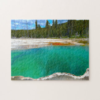Hot Springs Yellowstone. Jigsaw Puzzle