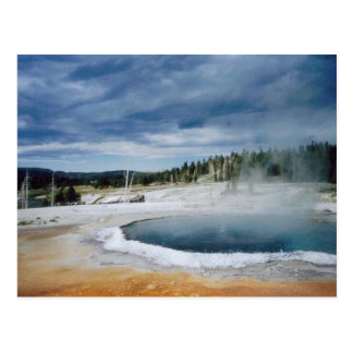 Hot Springs-Yellowstone Postcard