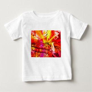 hot striped maize baby T-Shirt