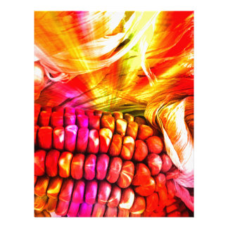 hot striped maize custom letterhead