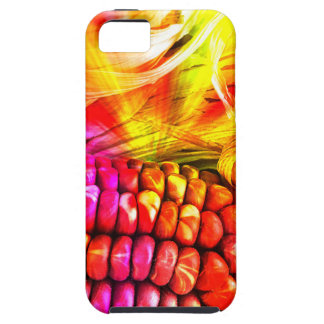 hot striped maize iPhone 5 covers