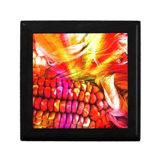 hot striped maize keepsake box